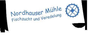 Logo Fischzucht Nordhauser Mühle